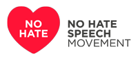 Logo of the no hate speech movement