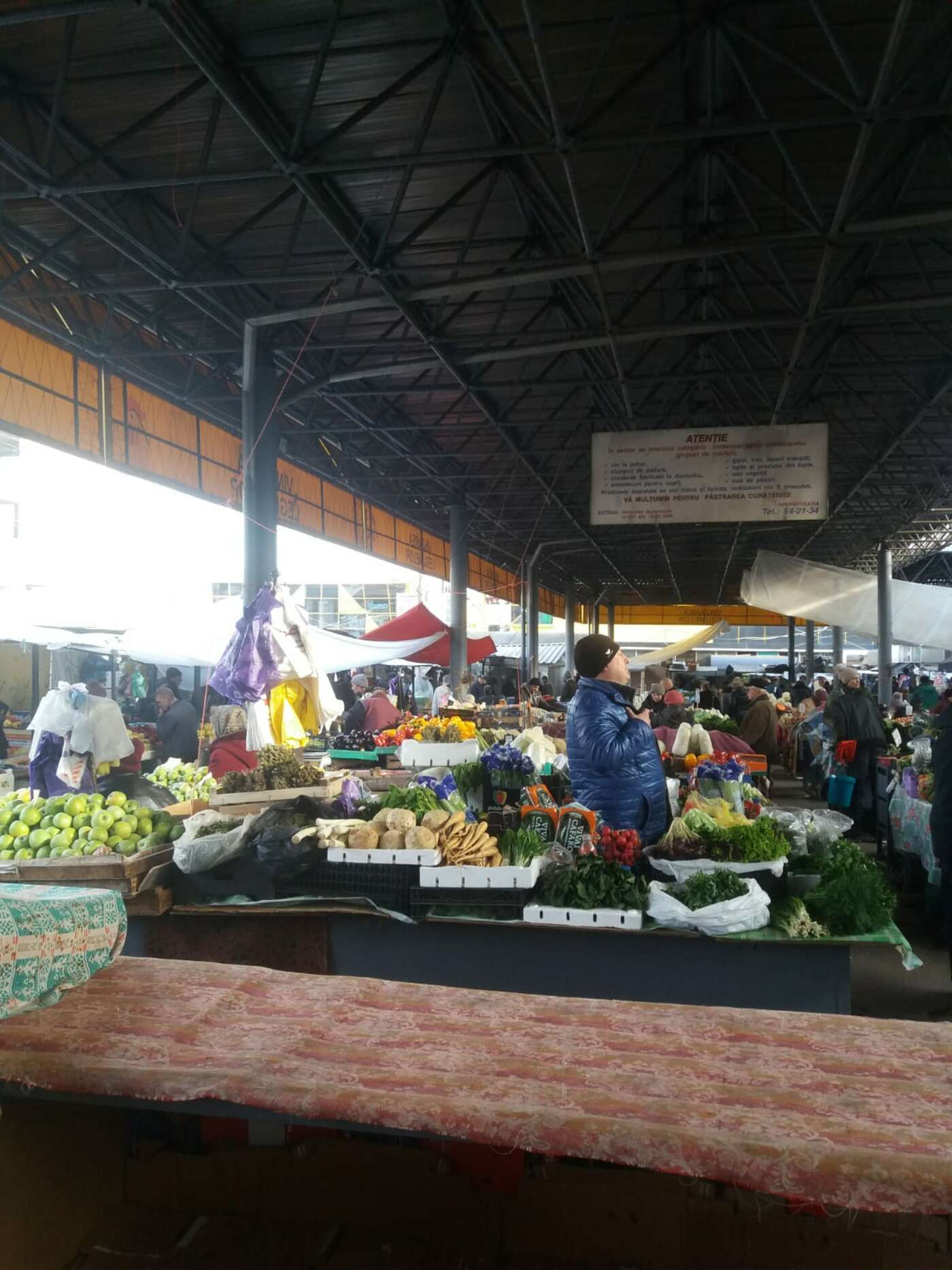 Central market of Chisinau