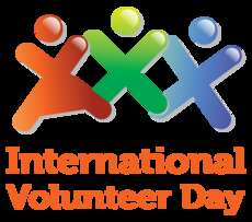 Logo des International Volunteer Day 2017