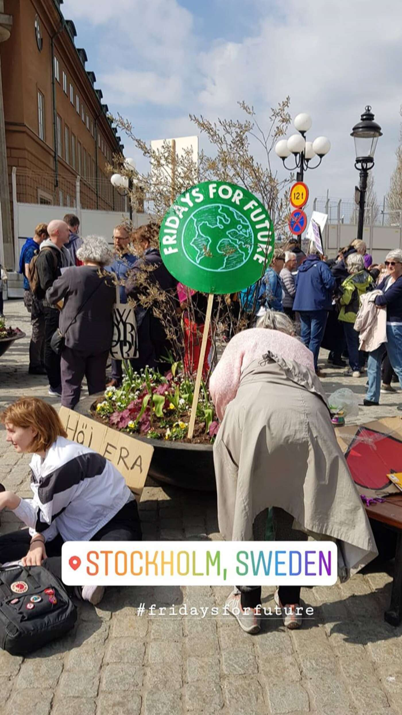 Fridays for Future in Stockholm