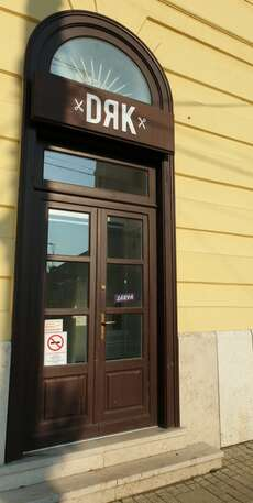 Closed shops in Debrecen because of Corona Virus prevention