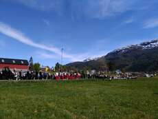 The parade in Nordfjordeid